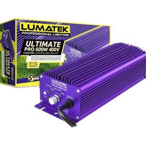 LUMATEK UltimatePro 600W 400V Controllable Ballast Packaging